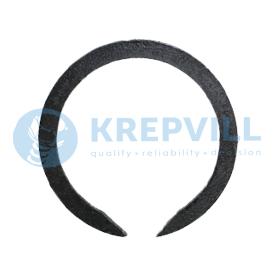 DIN 7993 A ГОСТ 13940-86 Cтопорные кольца пружинные