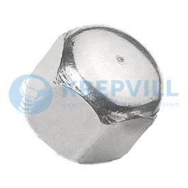 DIN 917 Колпачковая гайка шестигранная, слепая, низкая