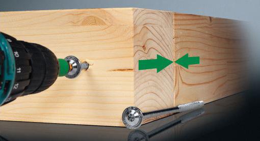 SPAX HI.FORCE 8 mm для деревянных конструкций фото