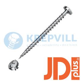 JDPLUS Саморез универсальный Pan-Head-Z, специальная смазка основное фото