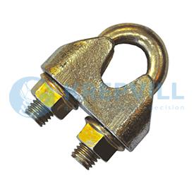 DIN 1142 Зажим для стальных канатов усиленный